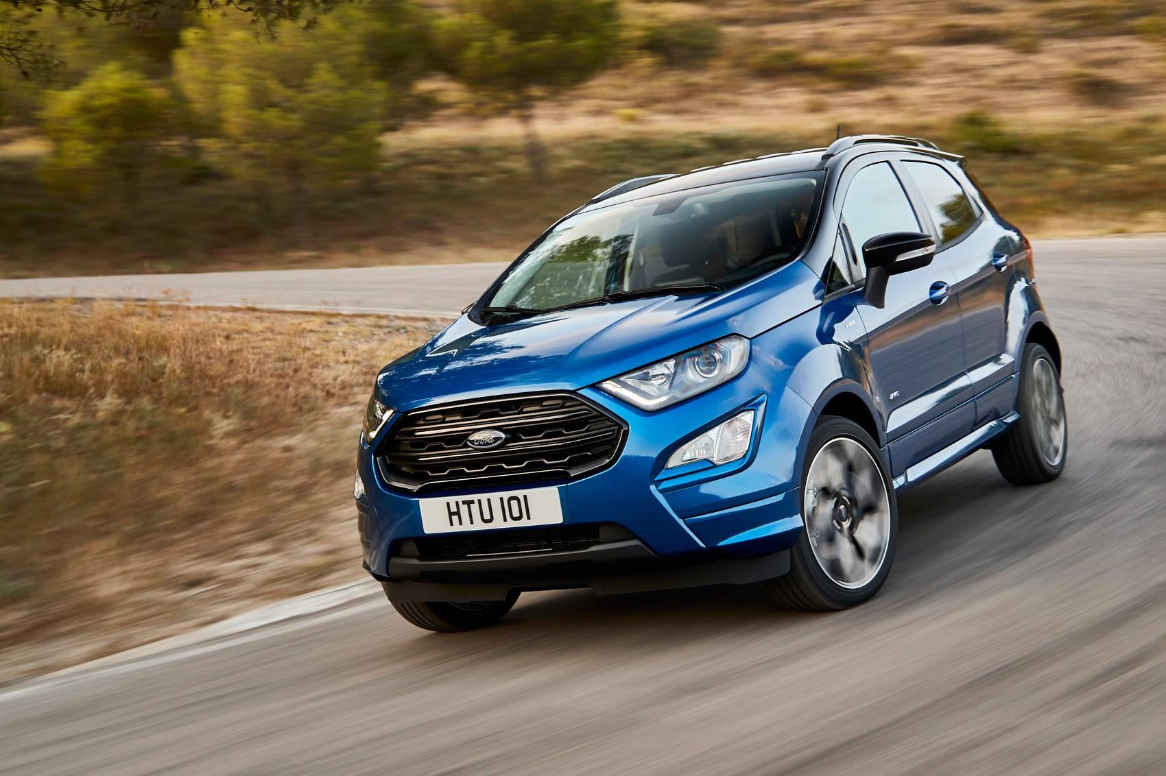 Ford ecosport scrubs up for frankfurt motor show
