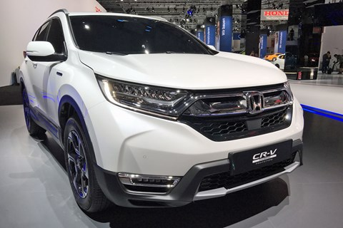 Not a radical update in looks for the 2018 Honda CR-V