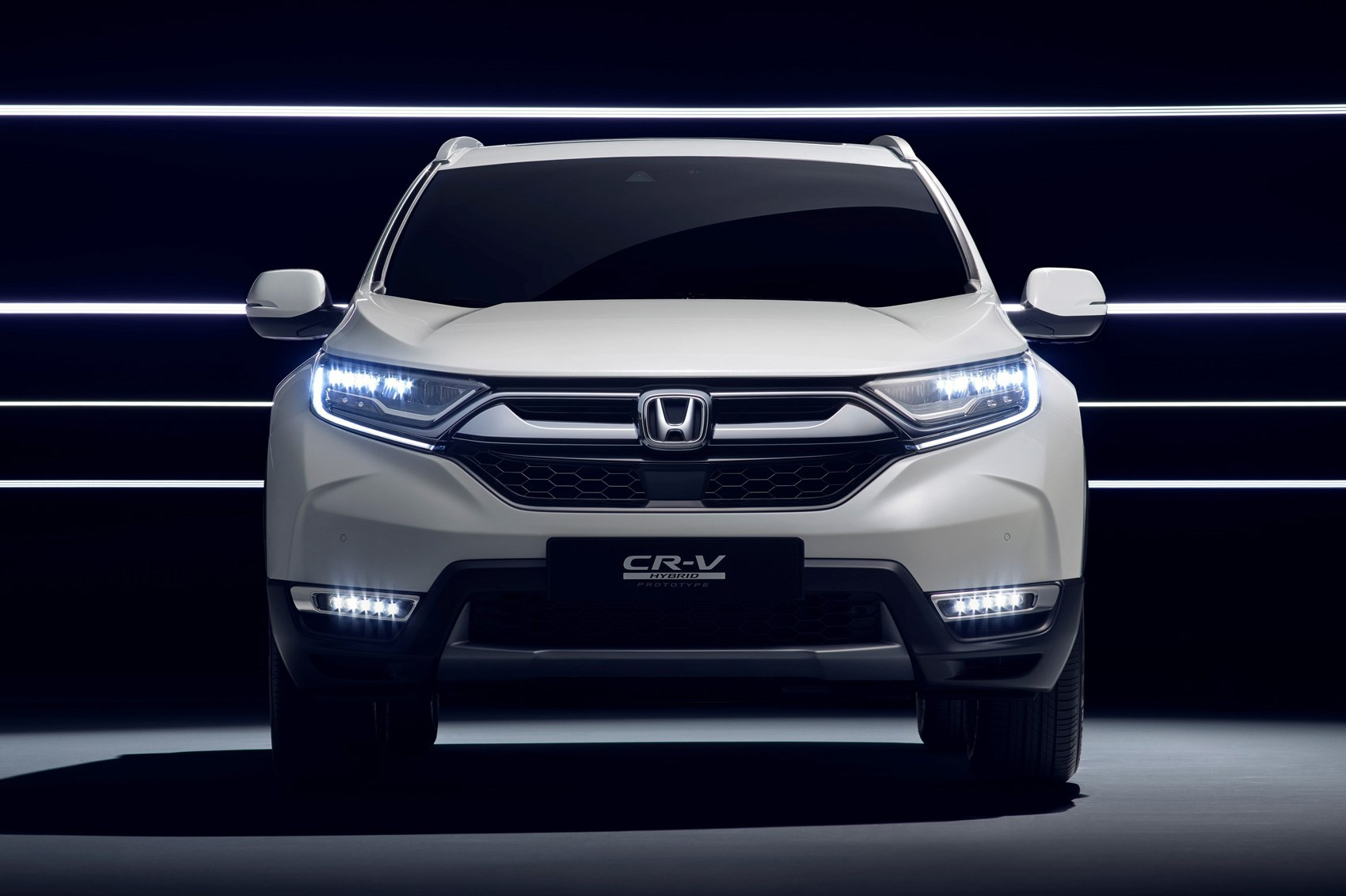 Honda CR-V Hybrid Prototype set for Frankfurt debut