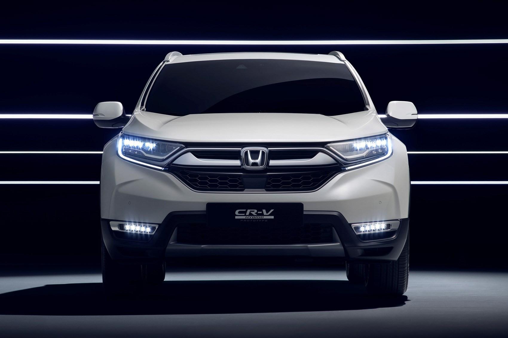 Hybrid Honda Crv >> Hybridised Honda SUV: new CR-V Hybrid Prototype hits Frankfurt | CAR Magazine