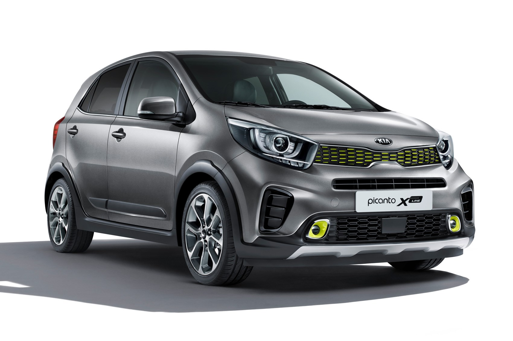 Pumped-up Kia Picanto X-Line inbound for Frankfurt 2017 ...