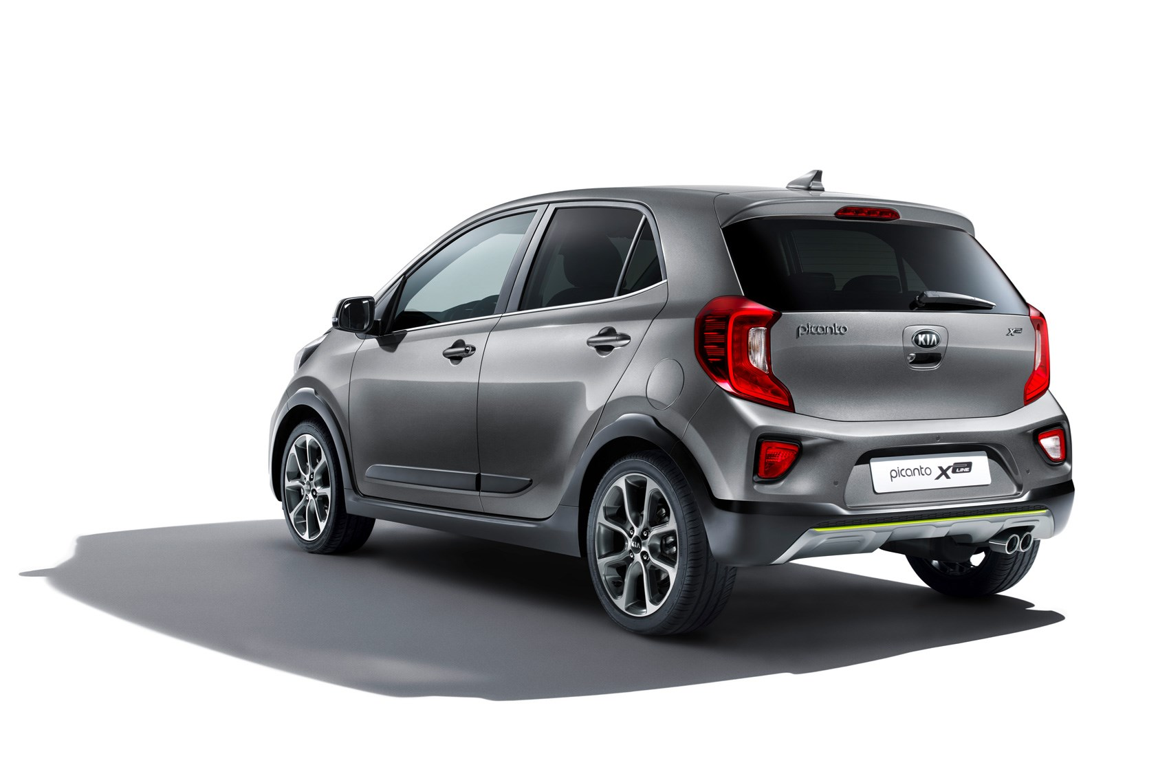 ... Pumped-up Kia Picanto X-Line inbound for Frankfurt 2017