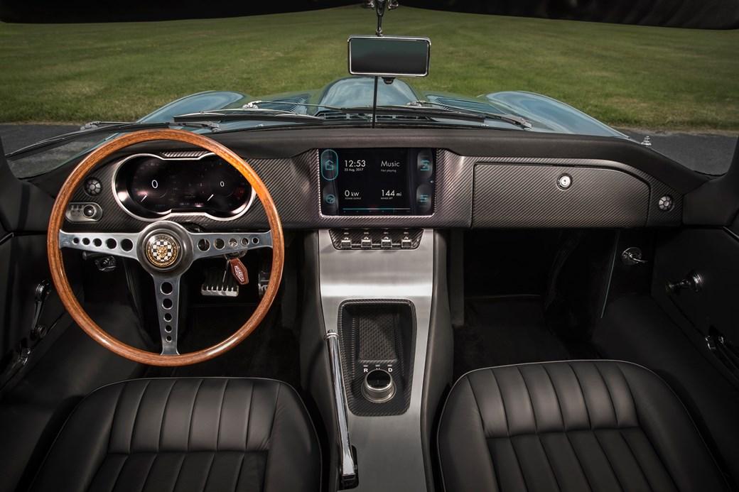 Jaguar E Type Zero Interior