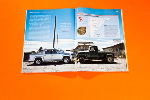 The pick-up should feel at home in the deep South America