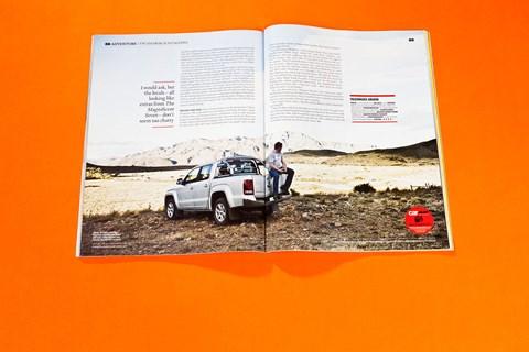VW Amarok in Patagonia