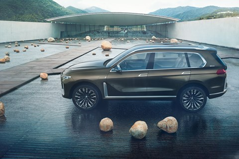 BMW X7 Concept iPerformance side