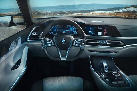 BMW X7 Concept iPerformance interior
