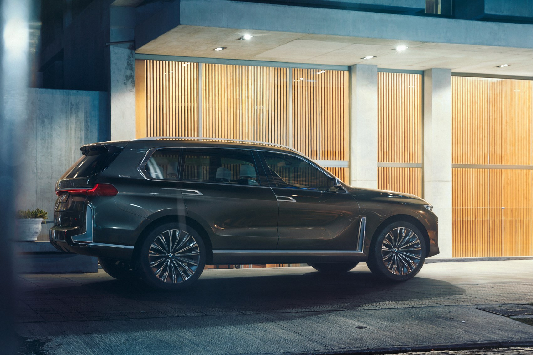 Coming To A Posh School Run Near You New Bmw X7 Concept