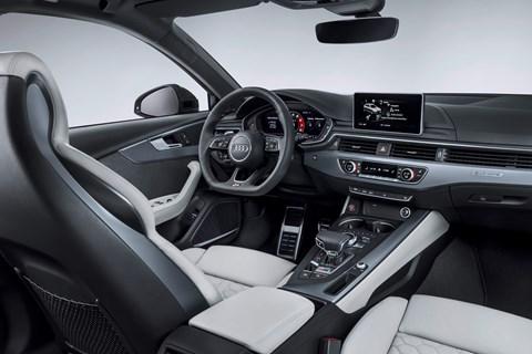 Audi RS4 Avant 2017 interior