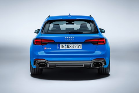 Audi RS4 Avant 2017 rear