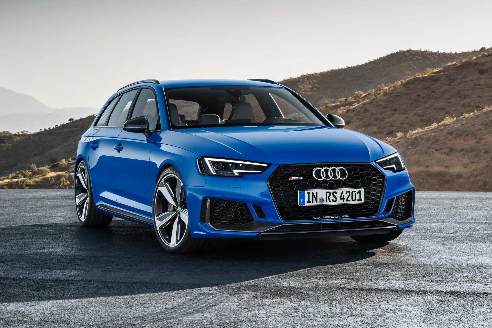 Audi RS4 Avant RETURNS with 444bhp for Audi's Hot Estate