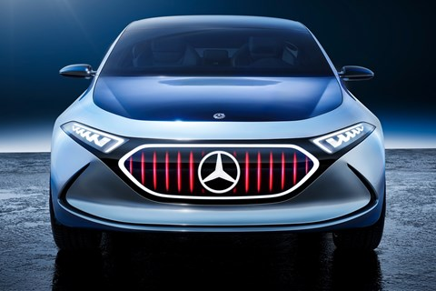 Mercedes EQA front sport plus