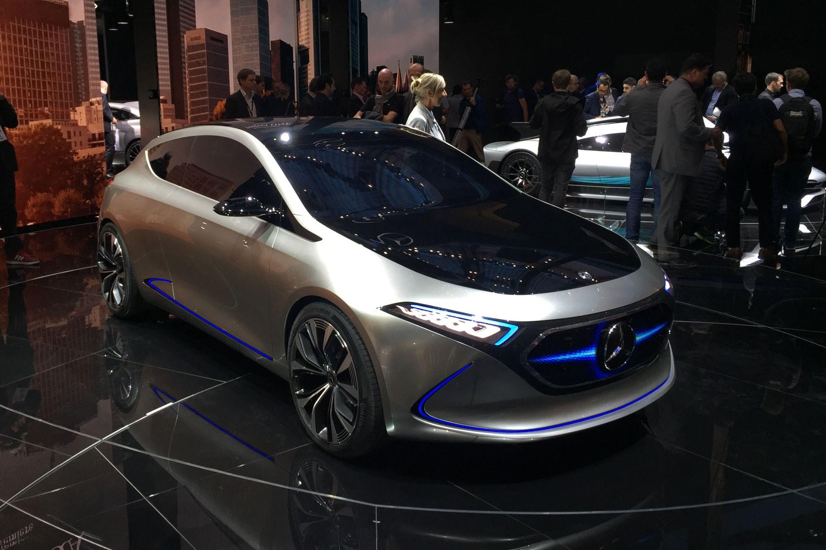 Mercedes Concept Eqa Dinky Ev Concept Shown At Frankfurt