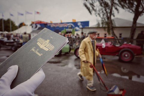Achingly hip aged tickets complete Goodwood Revival detail