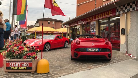 Ferraris take over Maranello