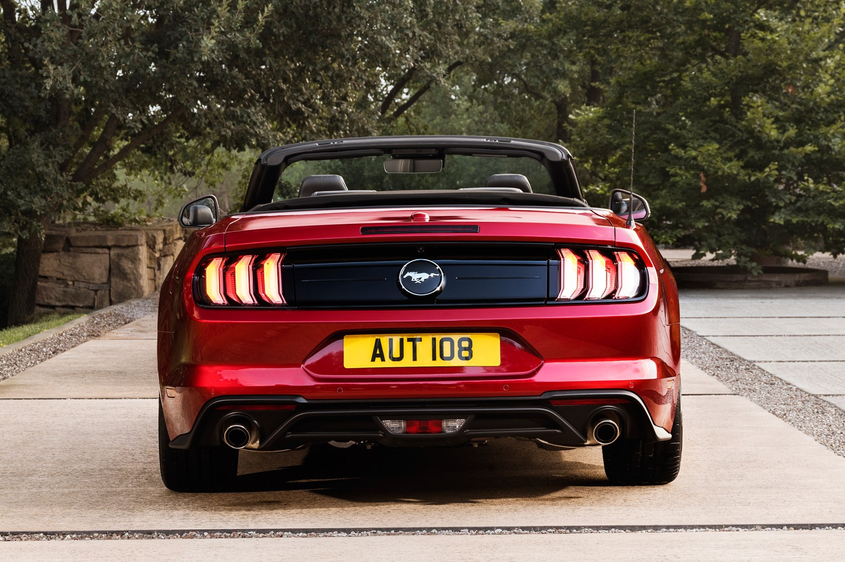 Ford Mustang Facelifted At  Frankfurt Motor Show