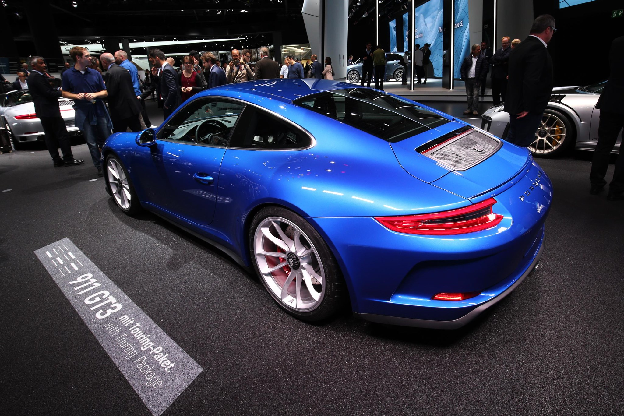 Porsche 911 Gt3 Touring Pack Revealed Car Magazine