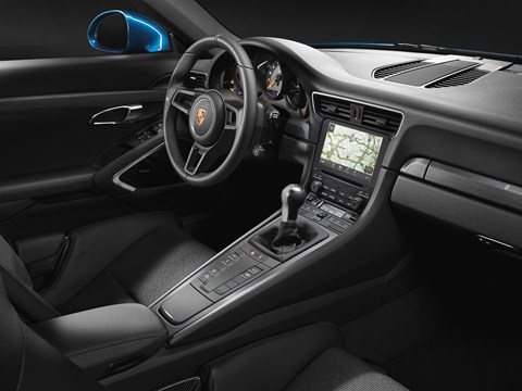 Cloth seats inside new Porsche 911 GT3 Touring Pack - and more leather instead of Alcantara