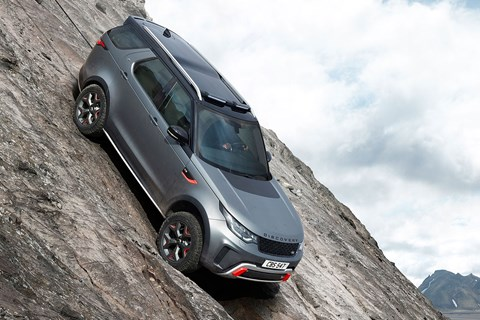 Land Rover Discovery SVX off-road