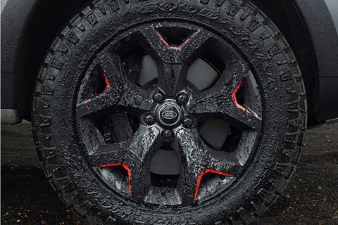 Land Rover Discovery SVX wheel