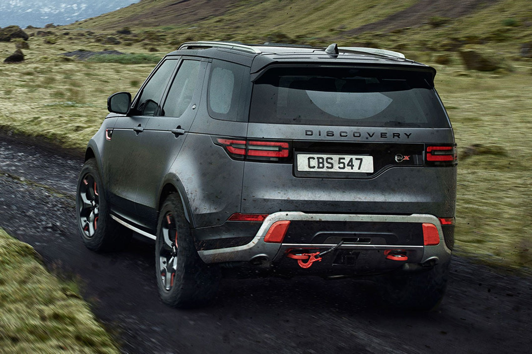 land rover discovery svx revealed in pictures by car magazine. Black Bedroom Furniture Sets. Home Design Ideas