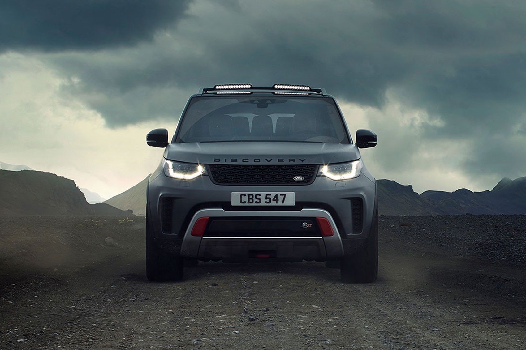land rover discovery svx revealed in pictures car magazine. Black Bedroom Furniture Sets. Home Design Ideas