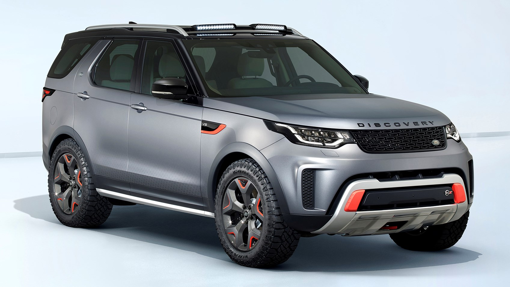 Land Rover Unveils New Discovery Svx At Frankfurt Iaa 2017
