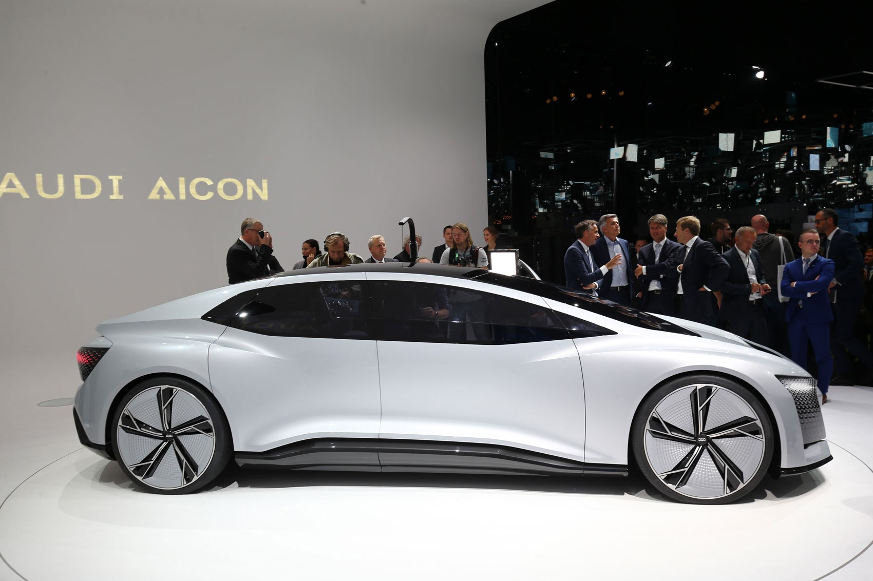 Audi Aicon And Elaine Concepts At 2017 Frankfurt Motor
