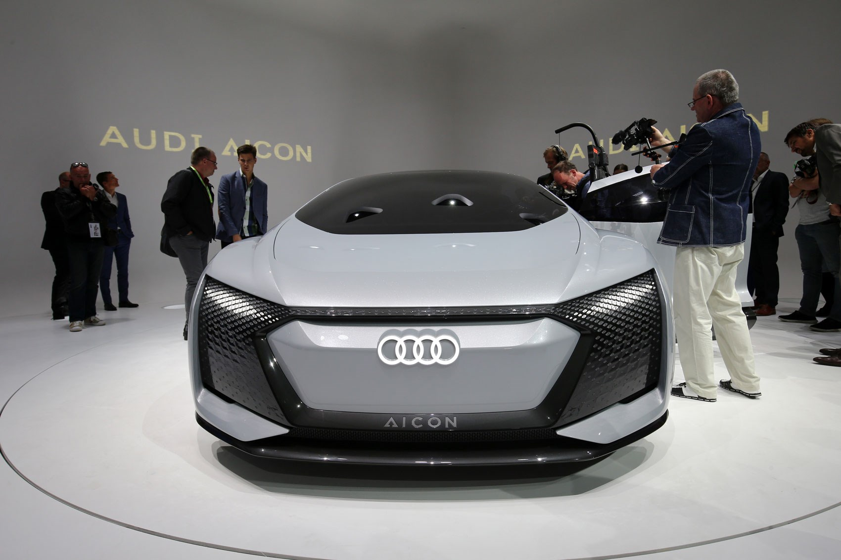 Audi Aicon And Elaine Concepts At 2017 Frankfurt Motor