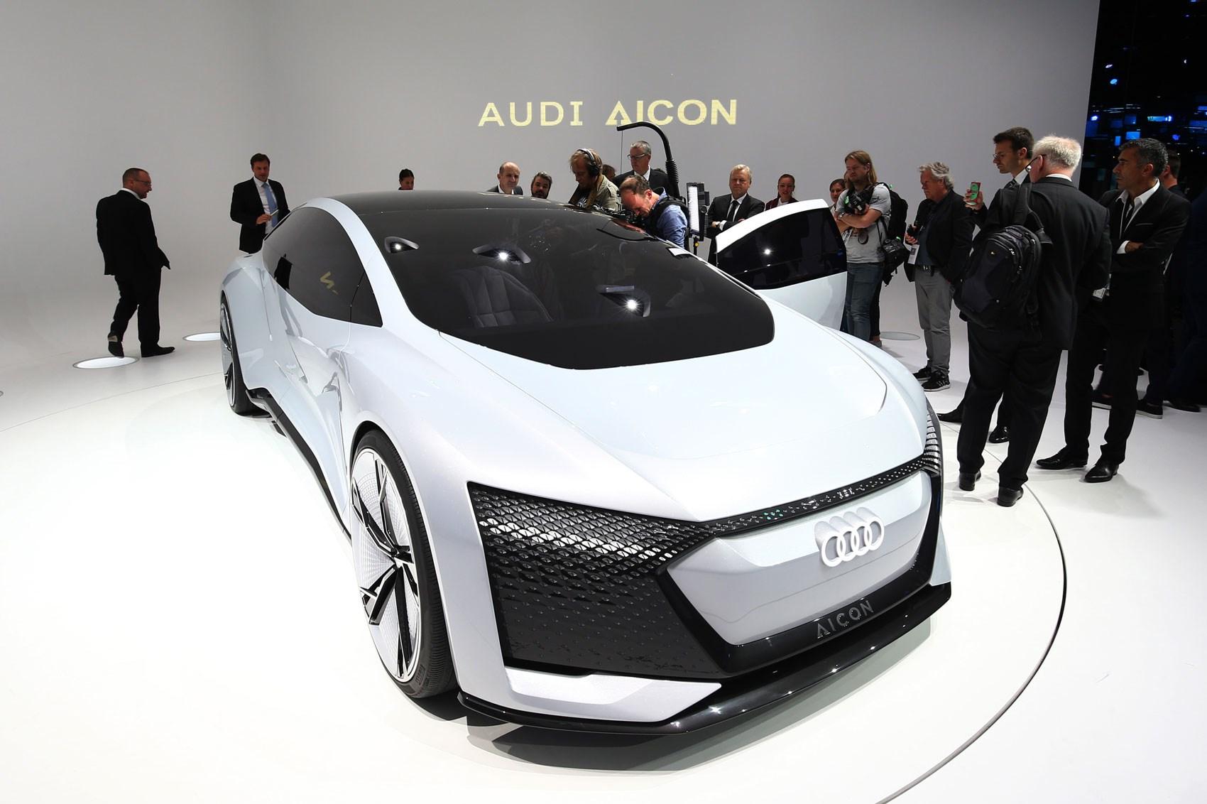 Audi Aicon And Elaine Concepts At Frankfurt Motor Show CAR - Audis