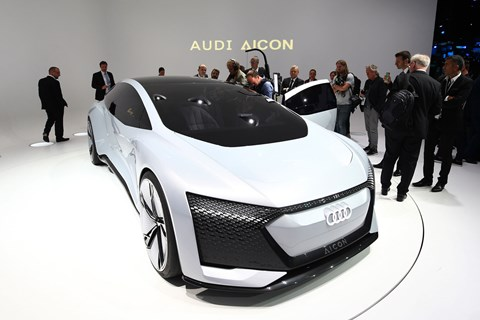 Audi Aicon concept at Frankfurt 2017