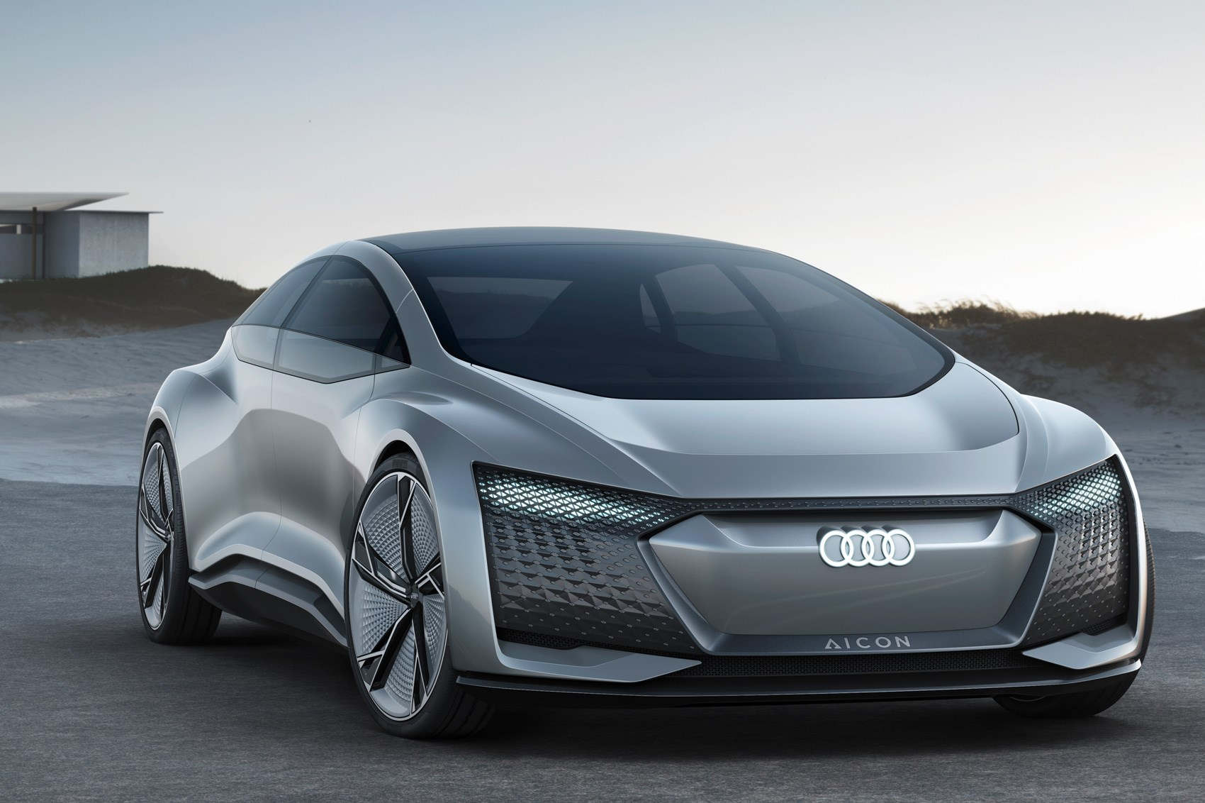 2017 Audi Aicon Concept Car Showing The Future Of Autonomous Electric Connected Audis