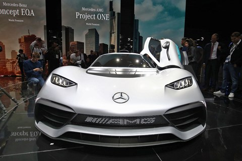 AMG Project One at Frankfurt 2017