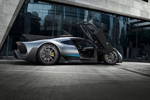 AMG Project One hypercar