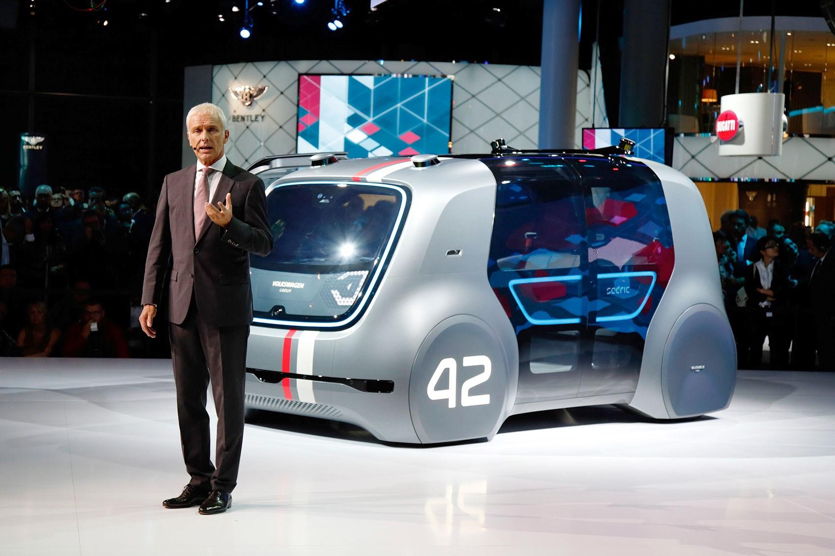 VW's Bold RoadMap E Strategy Revealed At Frankfurt Motor