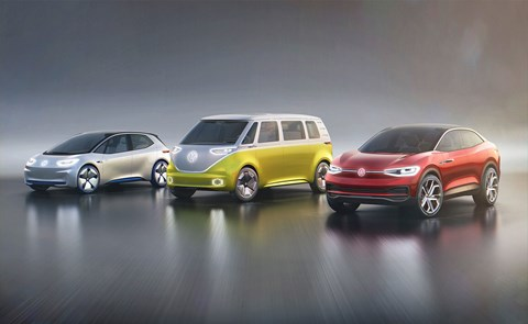 VW ID electric car range