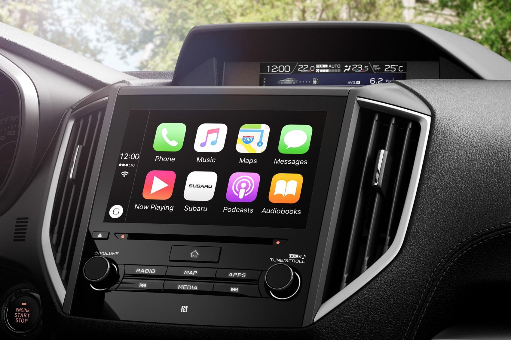 Le Carplay In The New Subaru Impreza