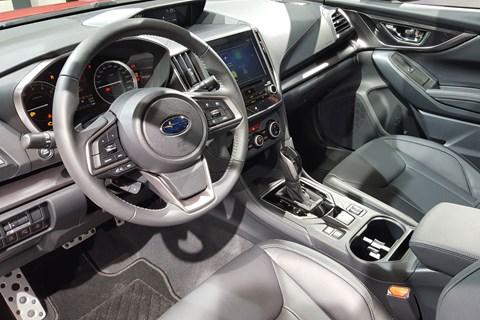 New Subaru Impreza interior at Frankfurt 2017