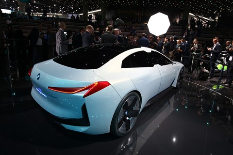 BMW i Vision Dynamics rear quarter