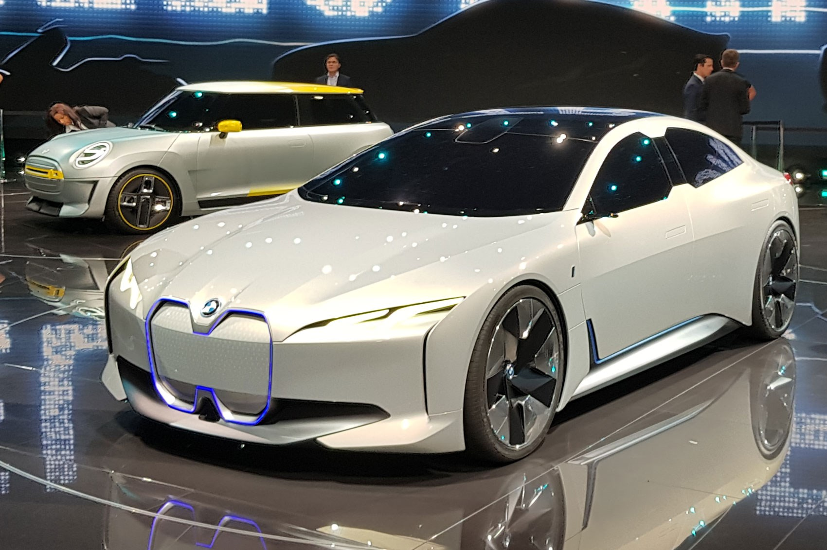 BMW I Vision Dynamics Concept Is This The New BMW I5 By
