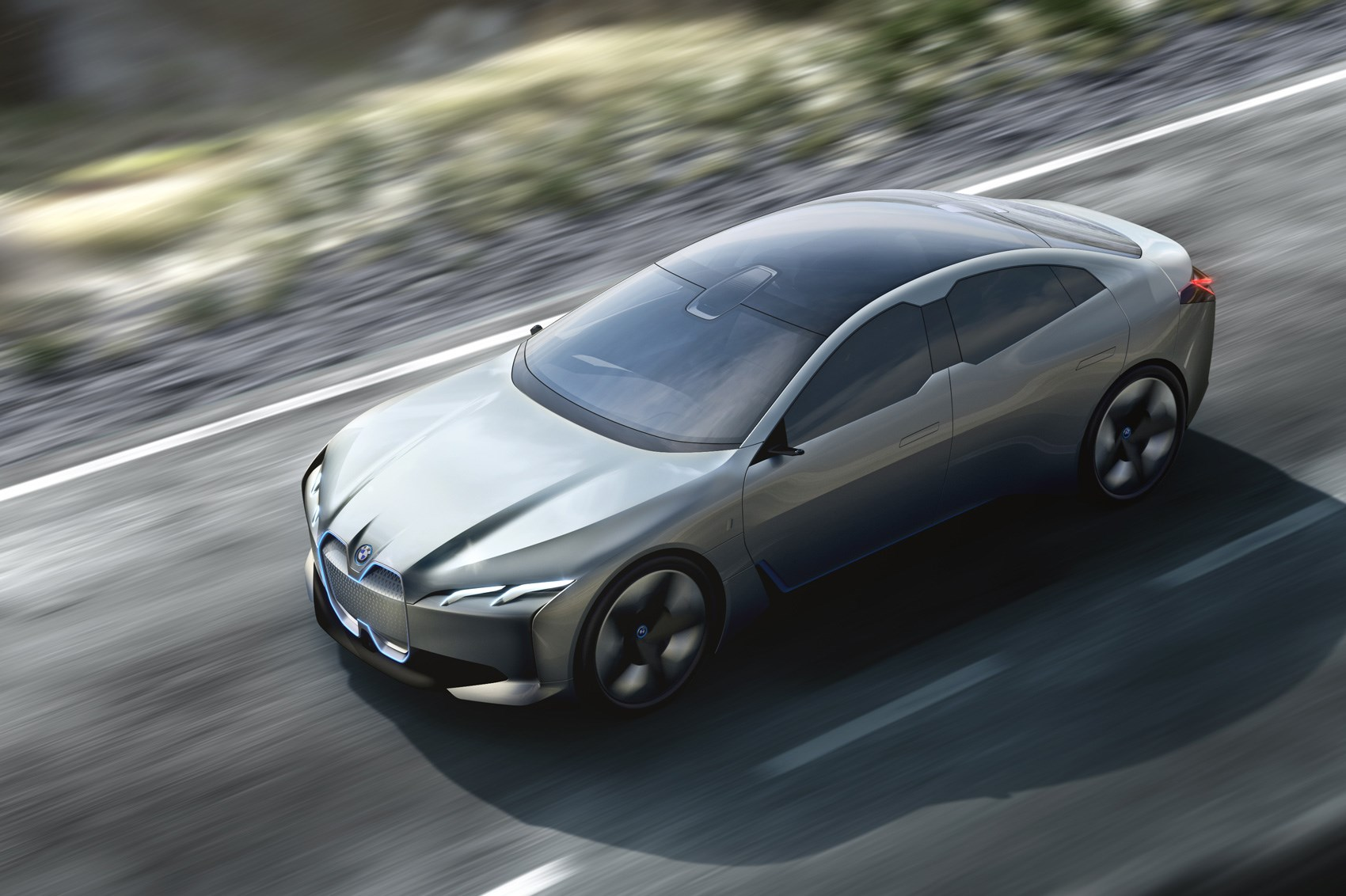 Bmw I Vision Dynamics Concept Is This The New Bmw I5 Car Magazine
