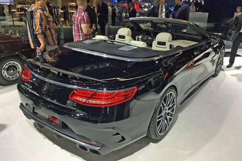 Brabus Rocket 900 - rear