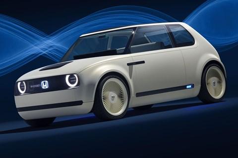 Honda urban ev concept front