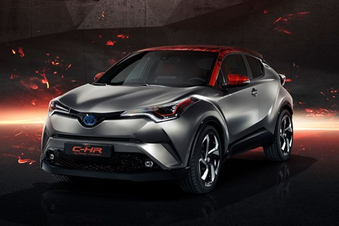 Toyota's C-HR Hy-Power concept could be very fast indeed. Or not. They haven't told us yet