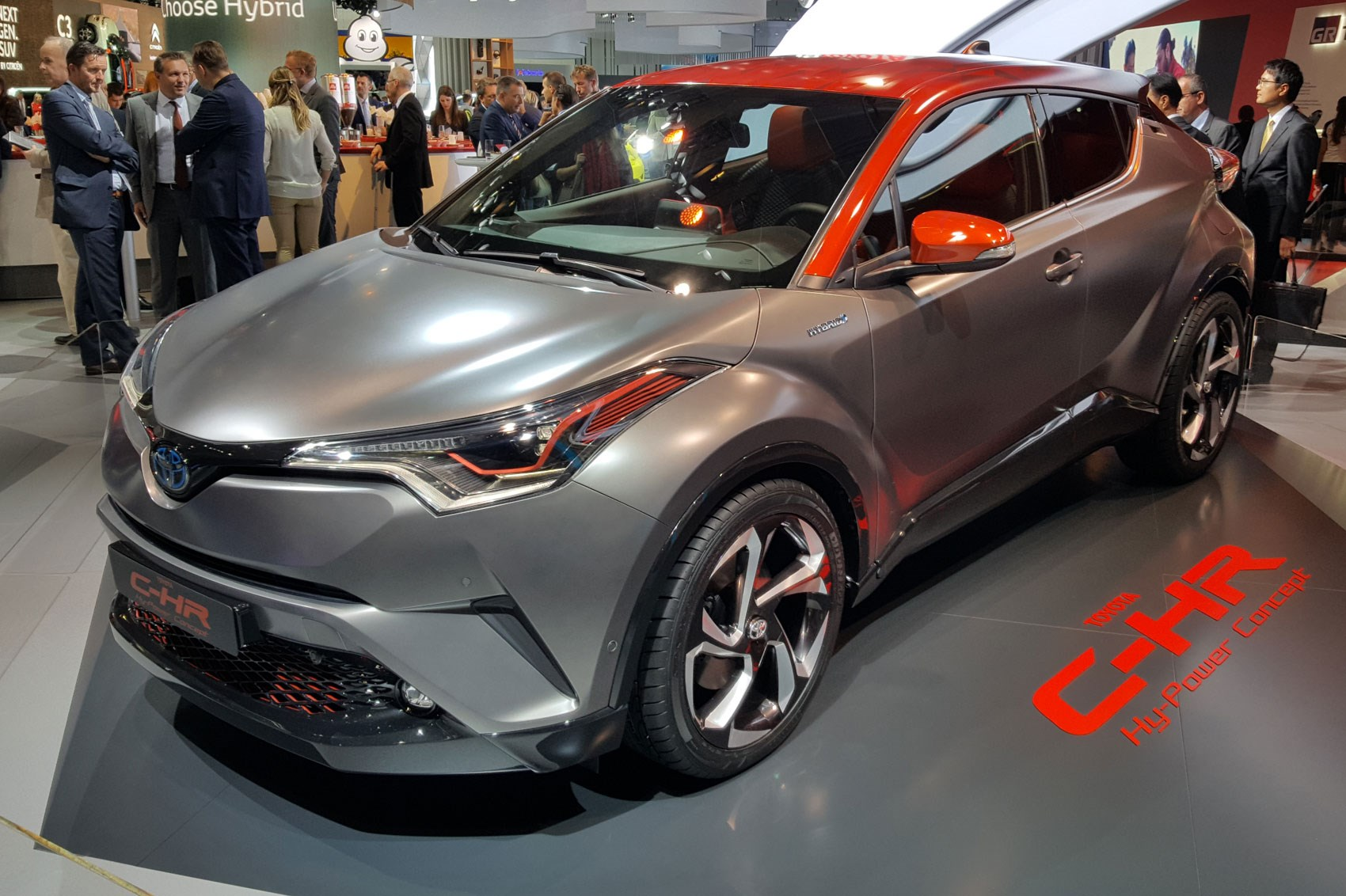 Crossover Gets Cross CHR Hypower Concept Shows Whats Up Toyotas - Merit chevrolet car show