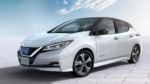 Nissan Leaf relaunched for 2018