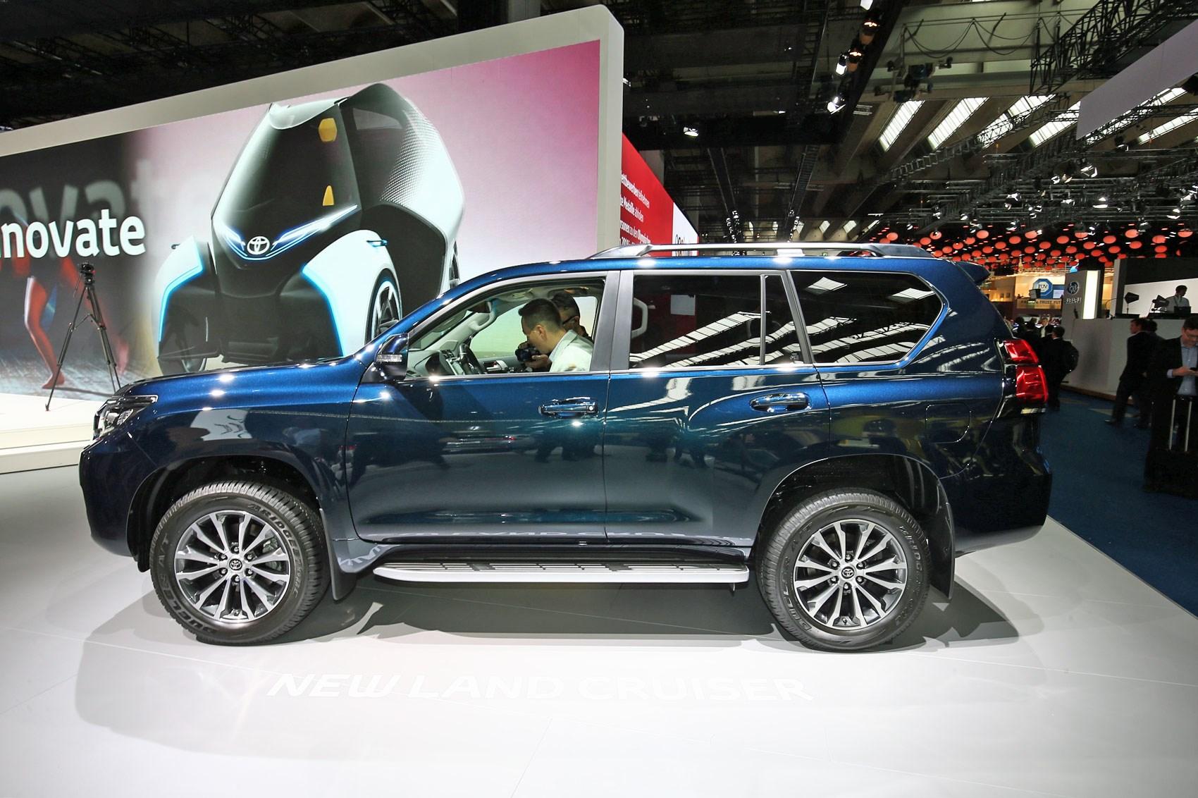 Updated Toyota Land Cruiser At 2017 Frankfurt Show