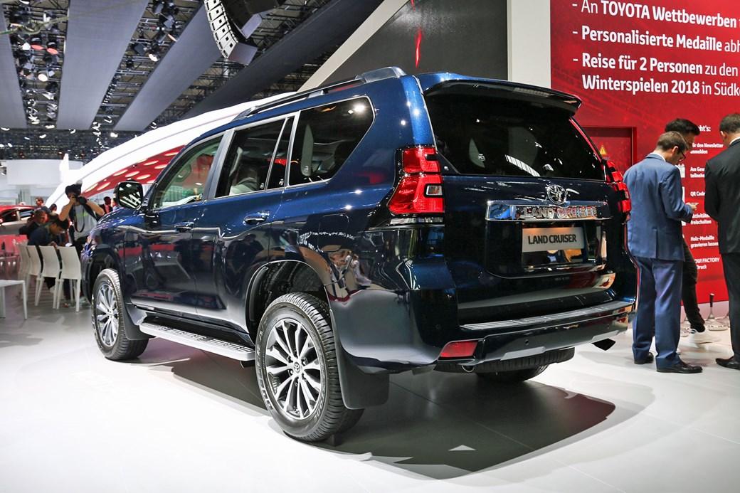 Toyota Land Cruiser At The 2017 Frankfurt Motor Show