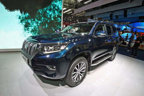 Toyota Land Cruiser gets new look at Frankfurt 2017