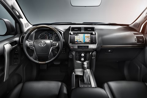New Toyota Land Cruiser interior